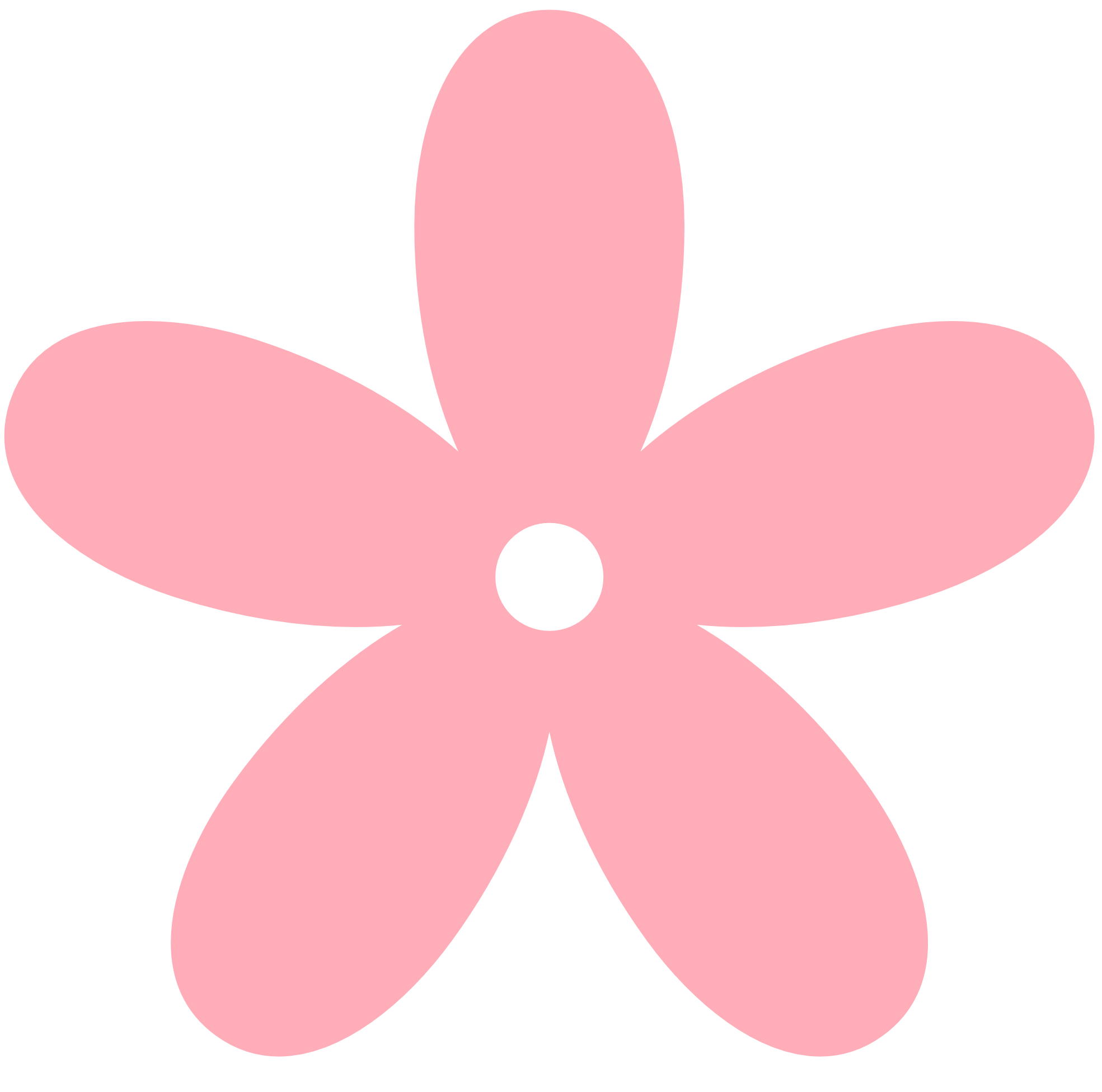 Pink flowers clipart png. Light flower