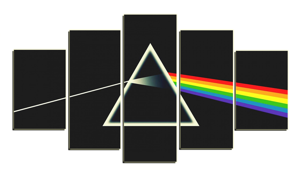 Pink floyd dark side of the moon png. Hd printed a pieces
