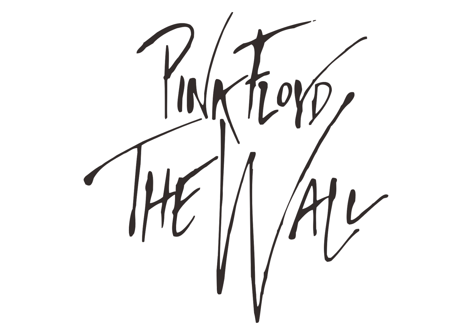 Pink floyd png. The wall logo photos