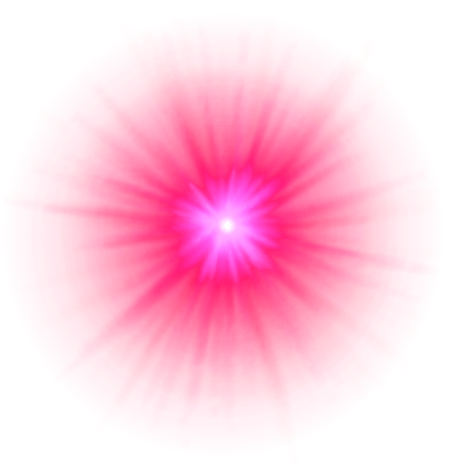 Pink glow png. Misc bg element by