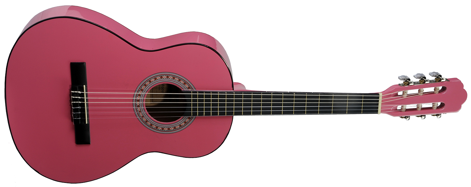 Pink guitar png. Stretton payne beginner size