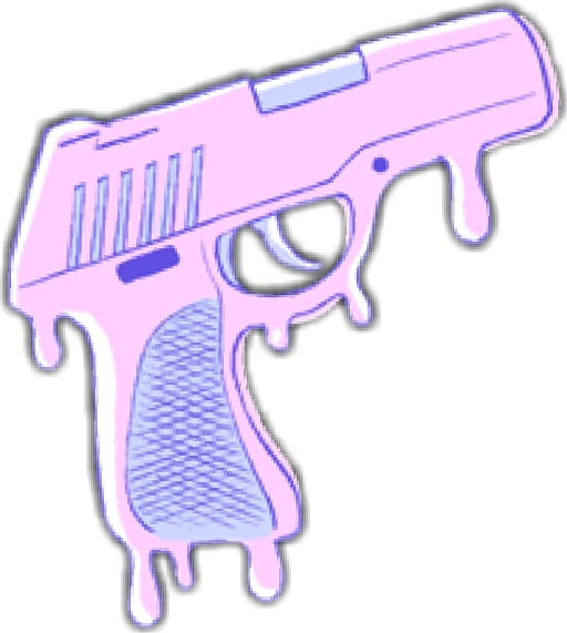 transparent guns kawaii