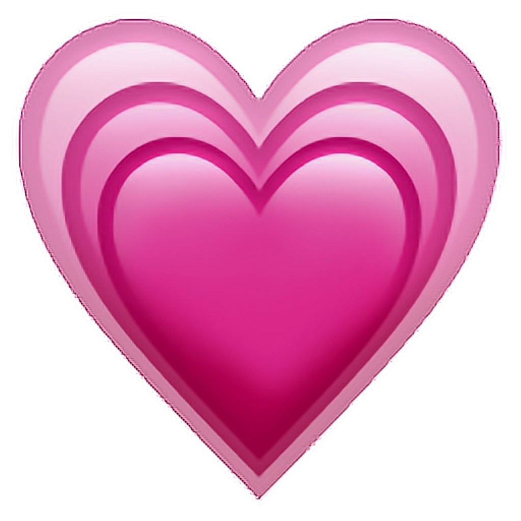 Iphone heart emoji png. Emojiip pink sticker tumblr