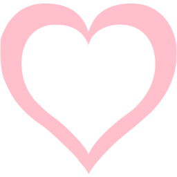 Pink heart icon png. Free icons