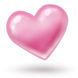 Download colobrush icons iconspedia. Pink heart icon png png black and white download