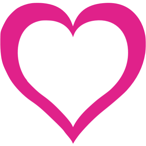 Pink heart icon png. Barbie free icons