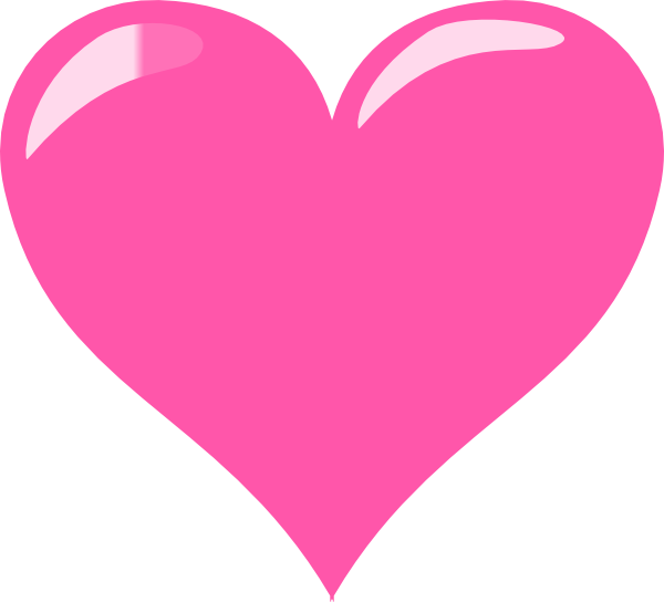Pink heart outline png. Transparent pictures free icons