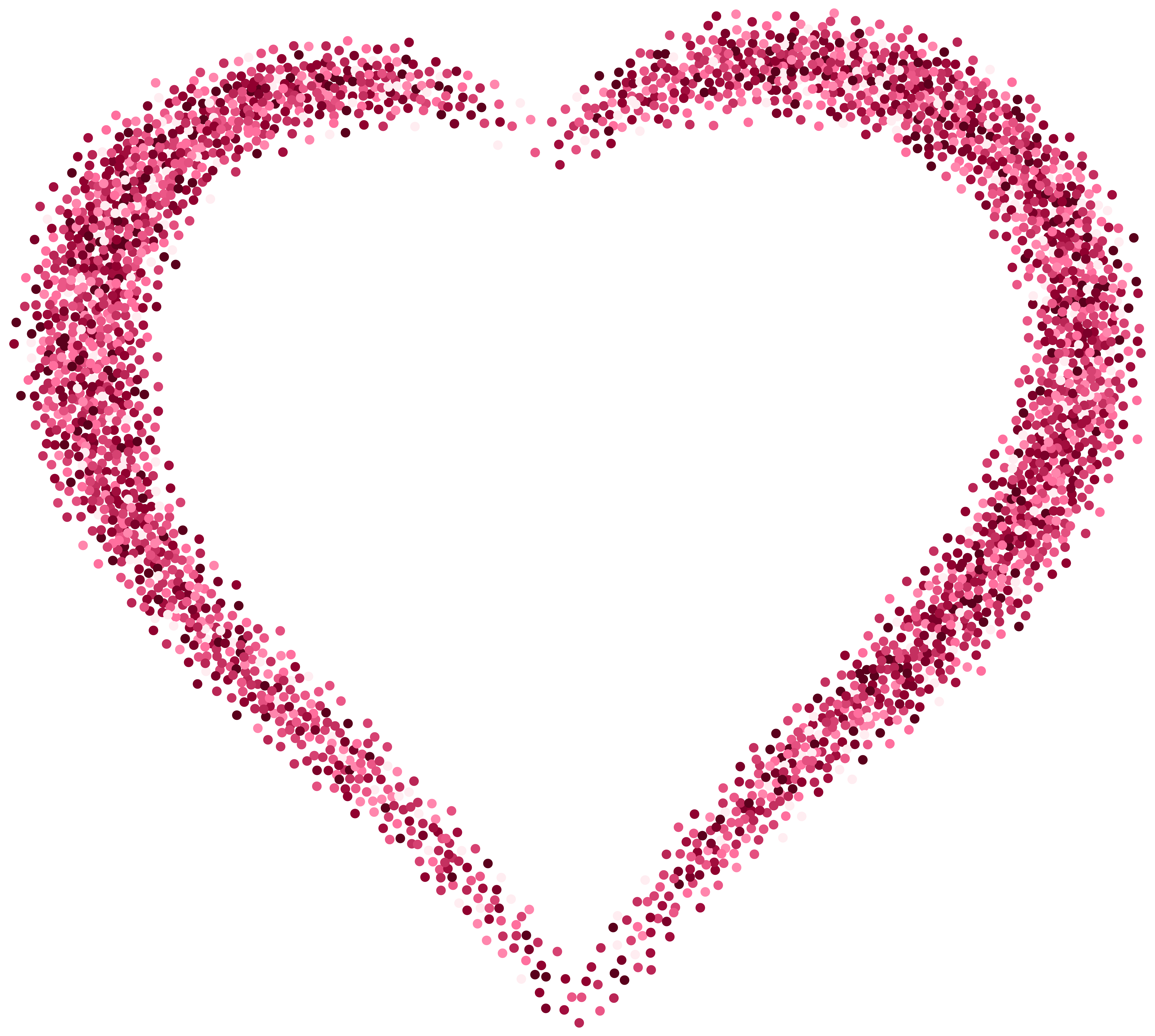 Heart, png pink. Decorative heart image gallery