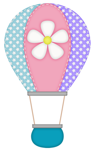 Pink hot air balloon png. Gd ss clipart pinterest