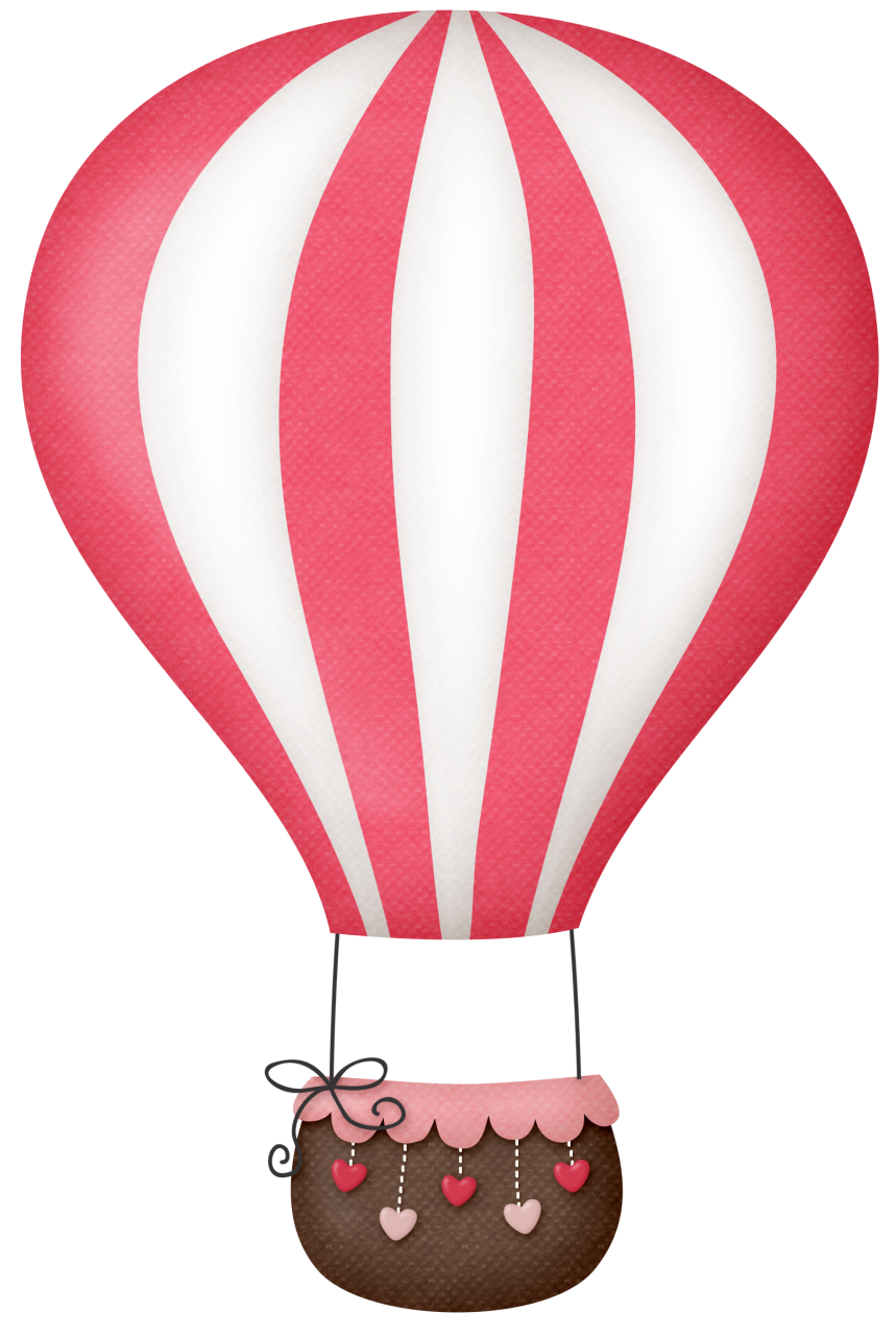 Pink hot air balloon png. B ae bada
