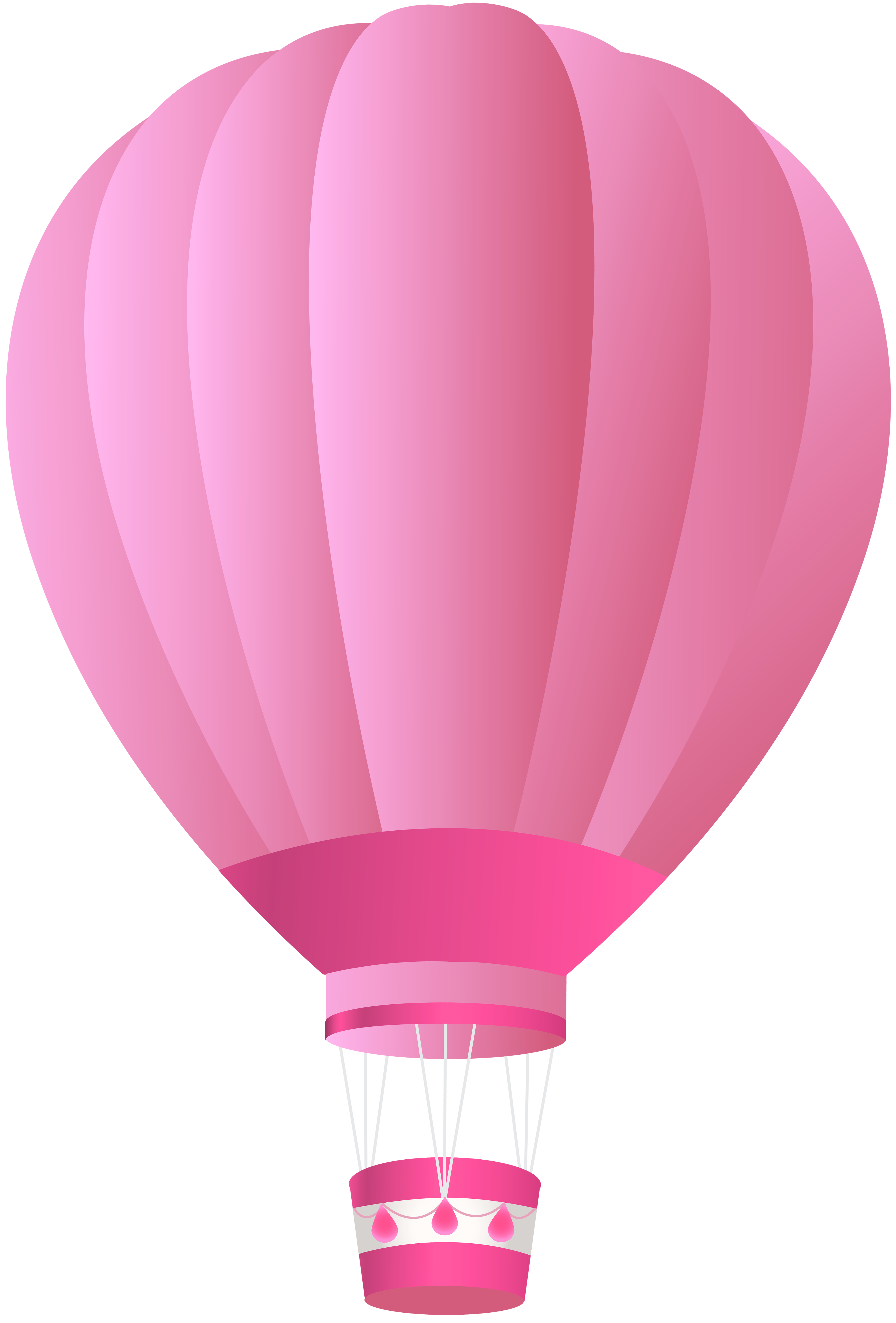 Pink hot air balloon png. Clip art image gallery