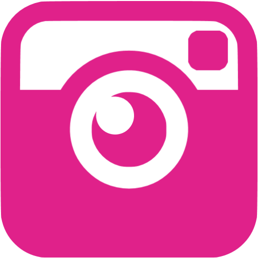 Pink instagram icon png. Barbie free social icons