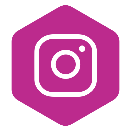 Pink instagram logo png. Icons for free hexagon