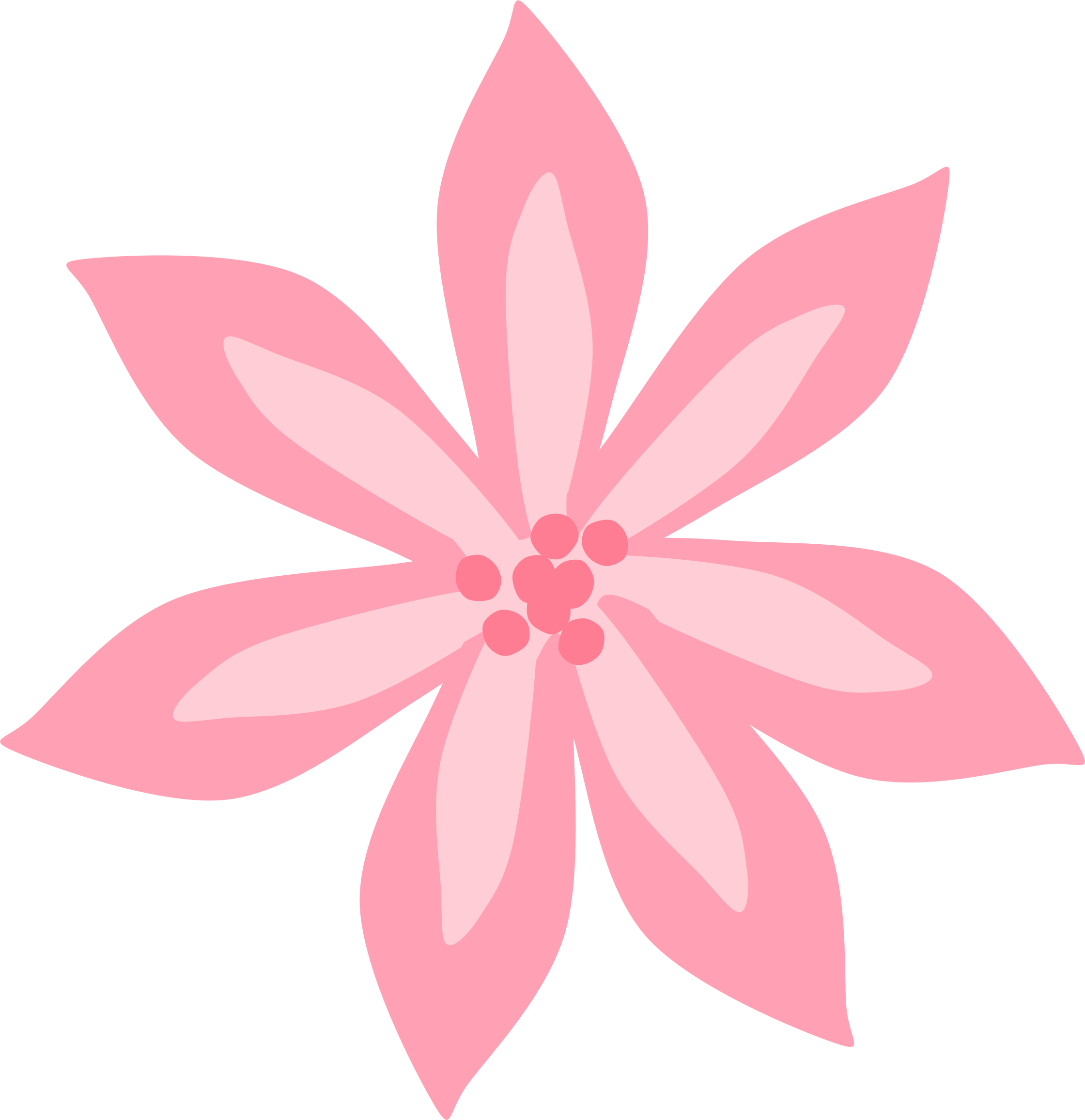 Pink lily png. Icons free and downloads