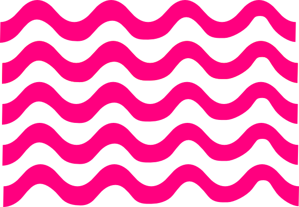 Pink lines png. Wave clip art at