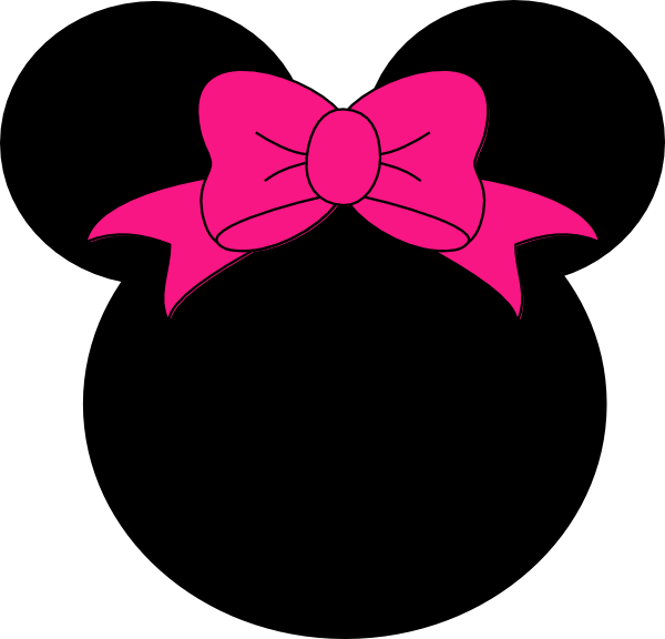 Pink minnie mouse png. Clip art at clker