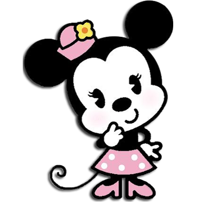 Pink minnie mouse png. Baby transparentpng