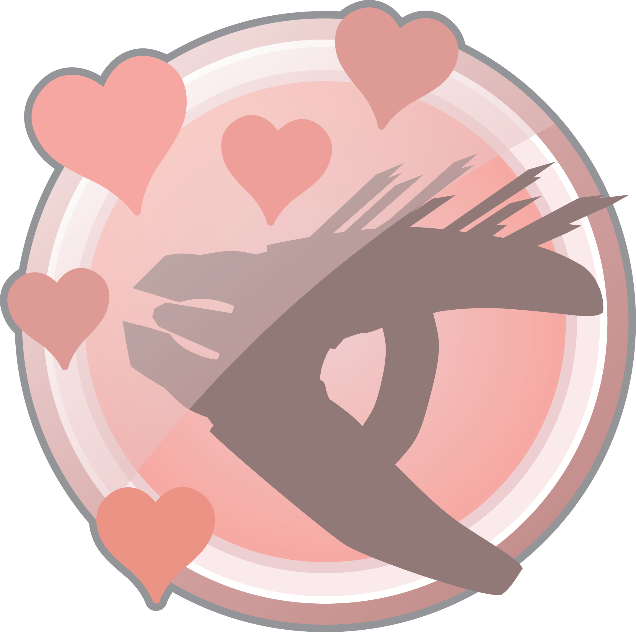Pink mist png. Print the achievement on