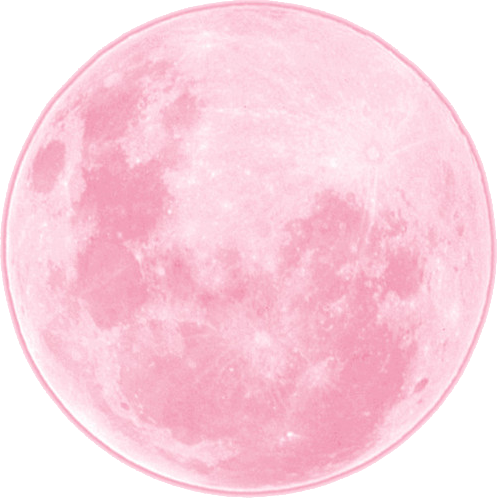 Pink moon png. Image about in transparents