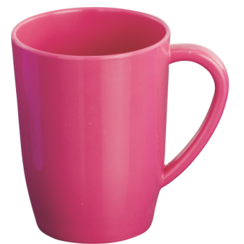 Pink mug png. Cup glass dinewell melamineware