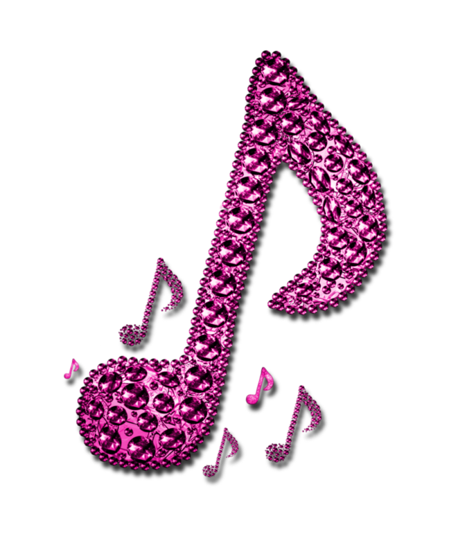 Pink music notes png. Tina graves gospel renowned