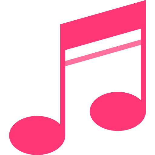 Pink music notes png. Free download best on