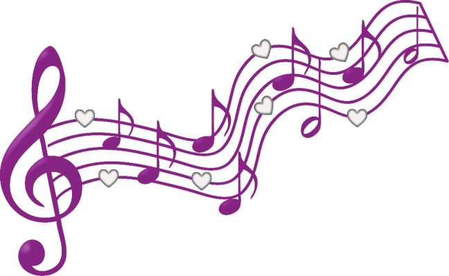 Pink music notes png. By yotoots on deviantart