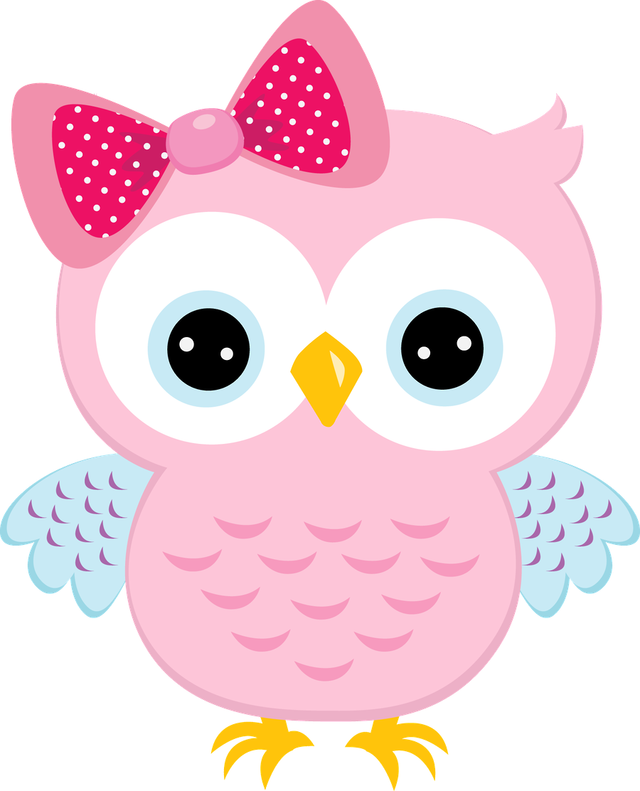 Pink owl png. Light with bow grade