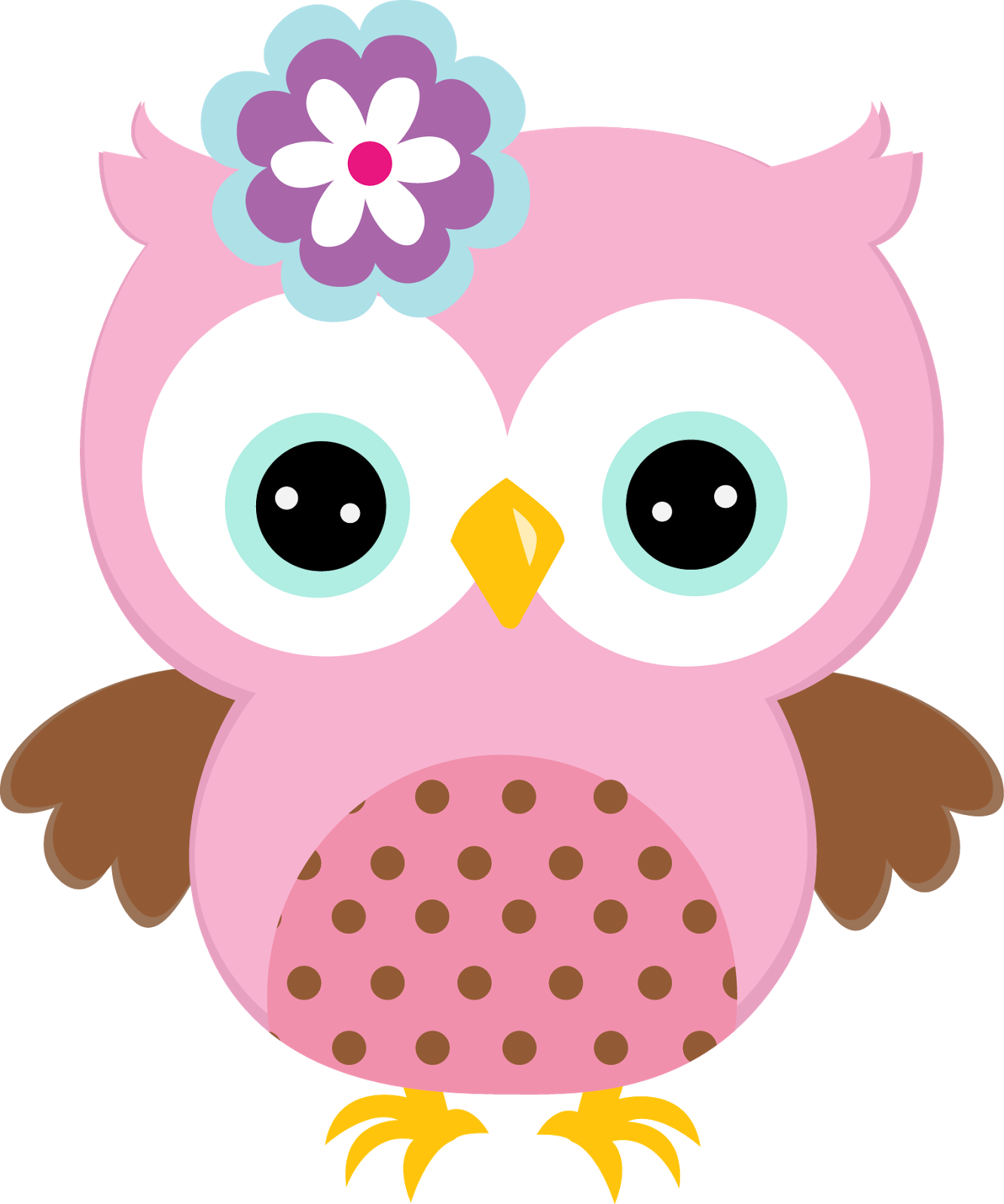 Pink owl png. Pin by t j