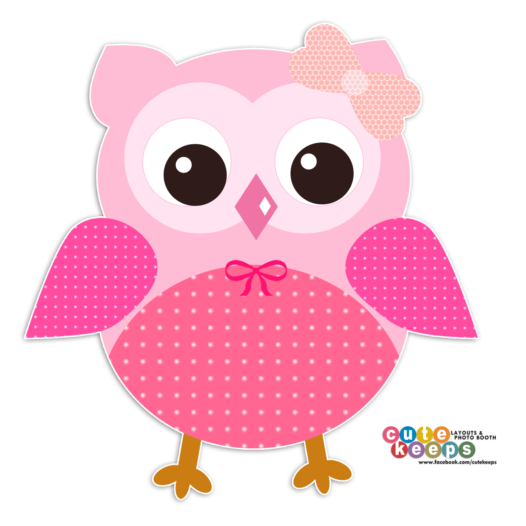 Pink owl png. Cute pinterest and craft