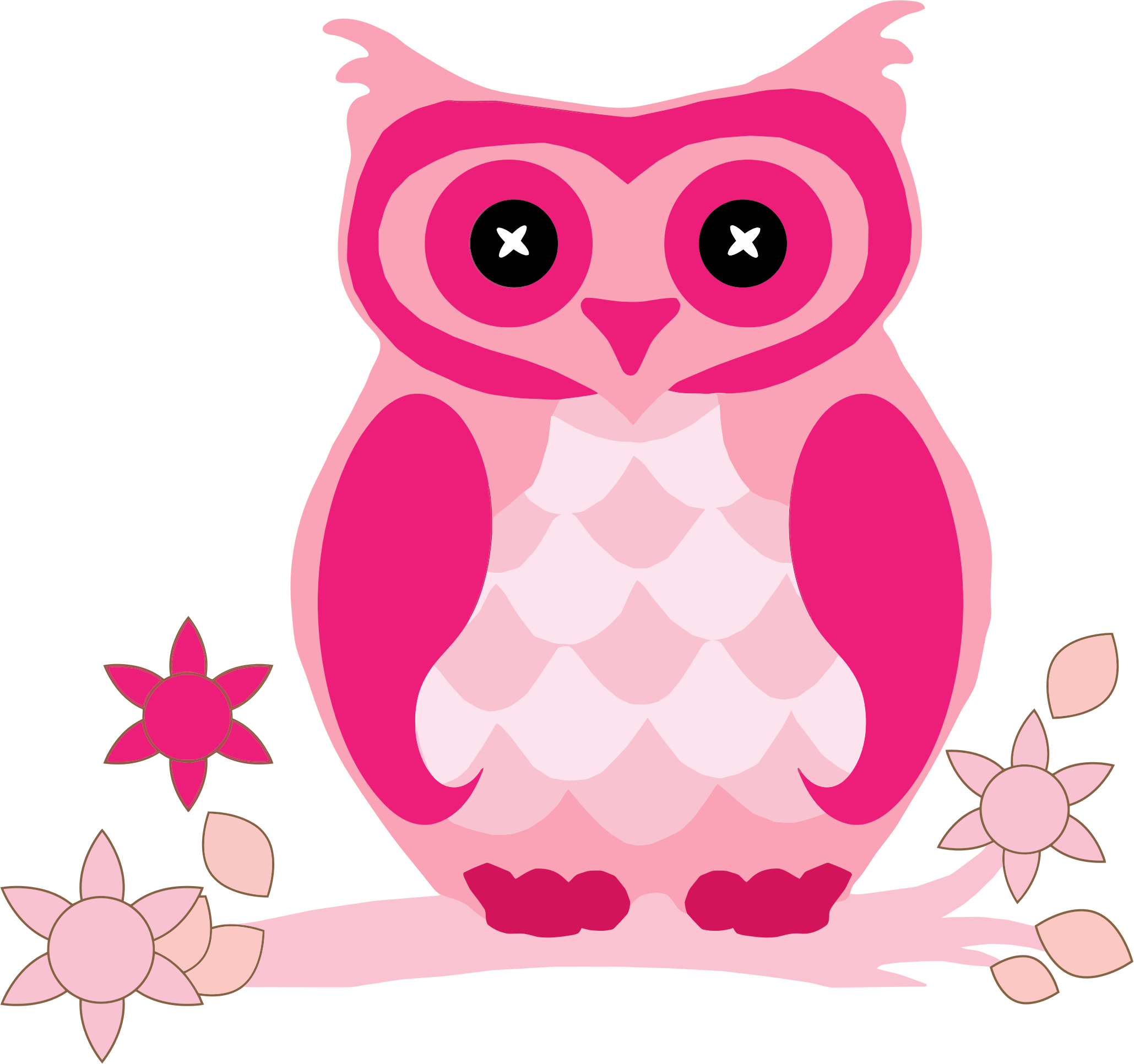 Pink owl png. Icons free and downloads