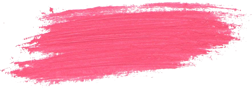 Pink paint stroke png. Brush transparent onlygfx