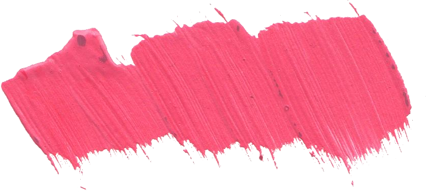 Pink paint png. Brush stroke transparent