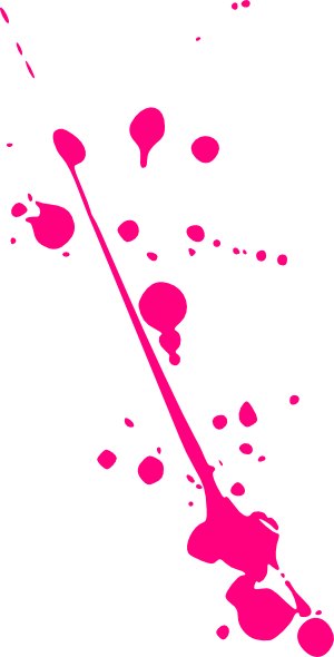 Pink paint splatter png. Clip art at clker