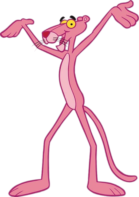 Pink panther png. Hurray photos