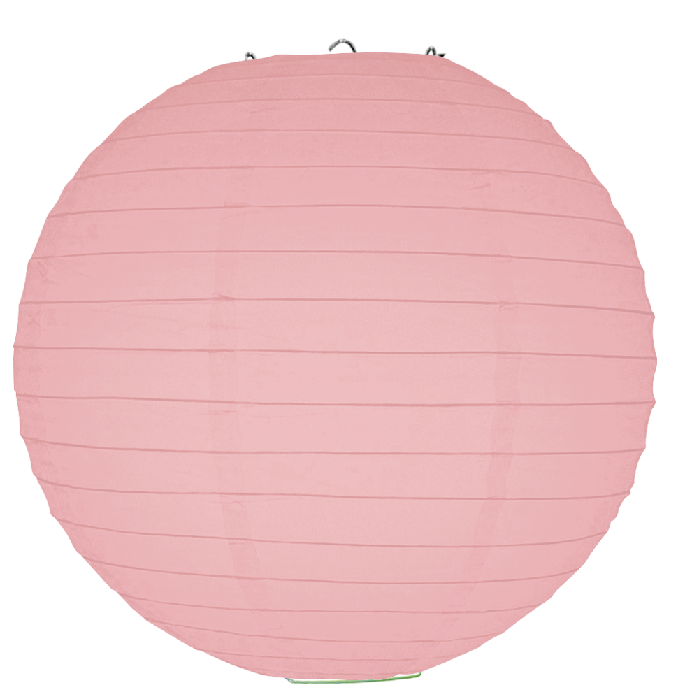 Pink paper png. Round lanterns and more