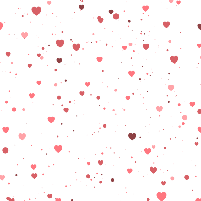 Pink pattern png. Heart background vector
