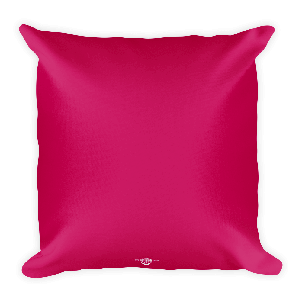Pink pillow png. With bubbly type spurven