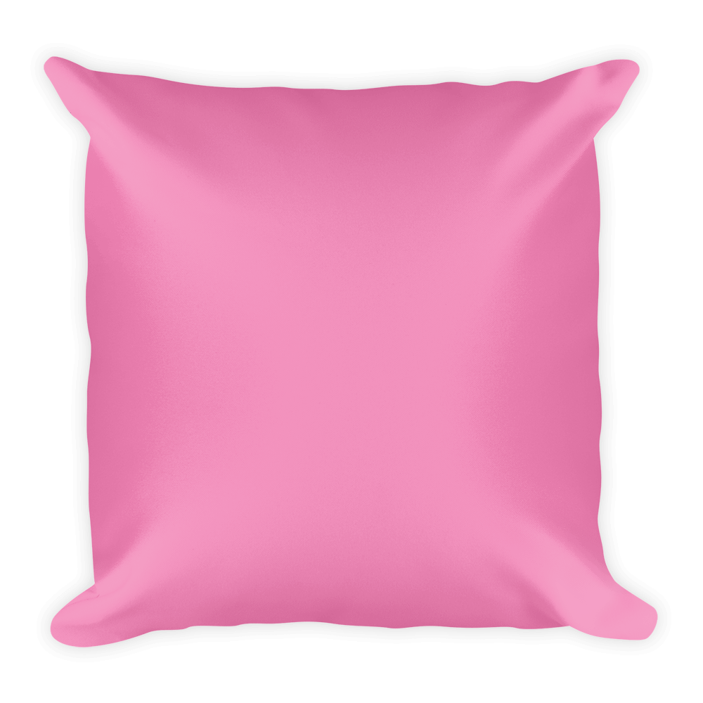 Pink pillow png. Personalized my family customized