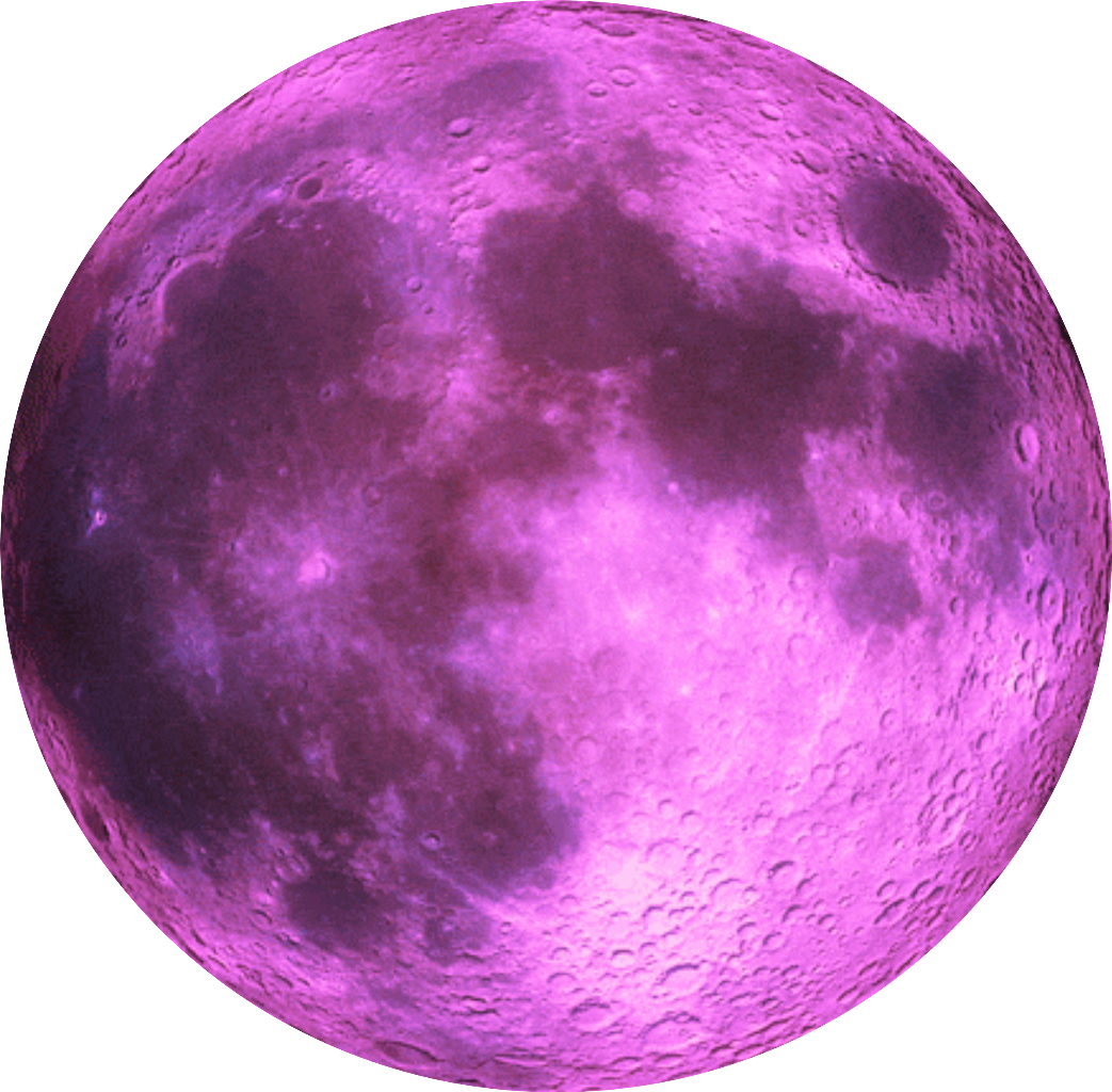 Pink planet png