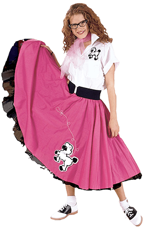 Poodle skirt png. Skirts the badfads museum