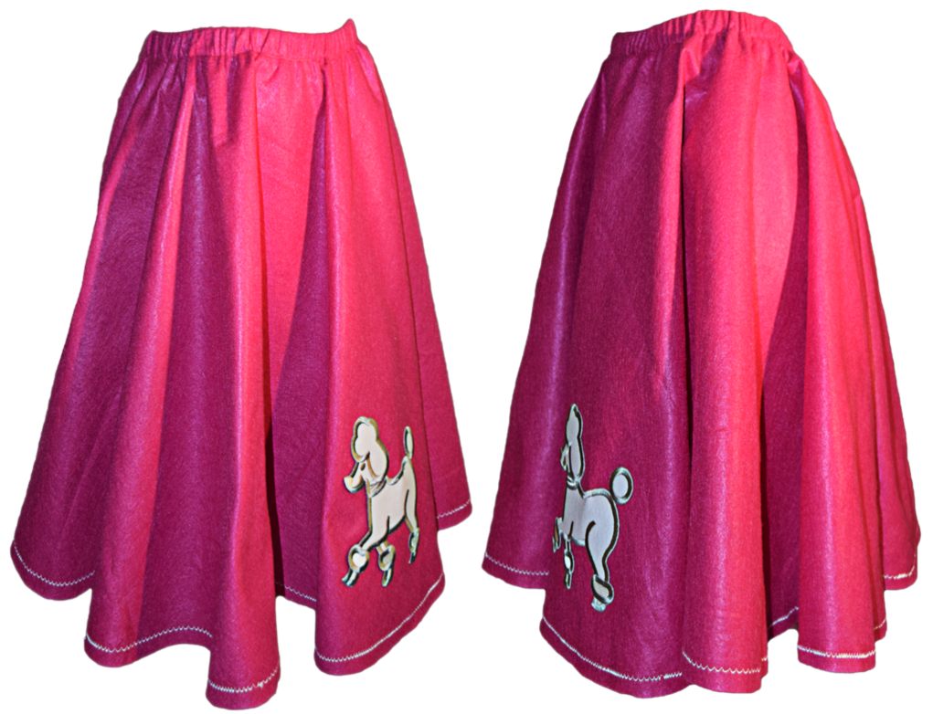 Poodle skirt png. Stock updated by mom