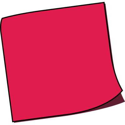 Pink post it note png. Sticky notes transparent images