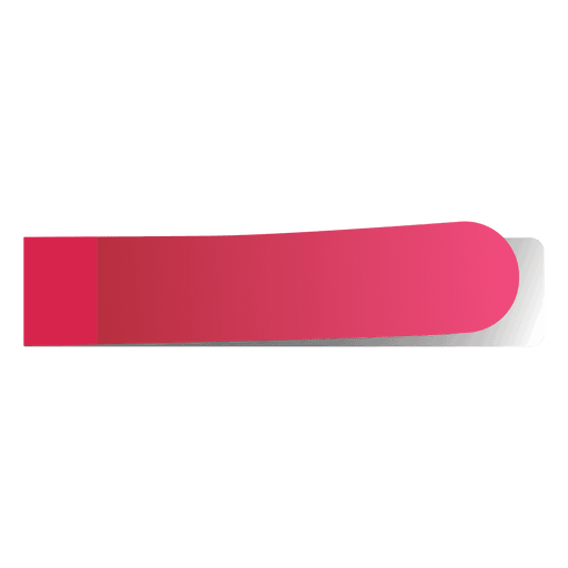 Pink post it note png. Sticky page marker transparent
