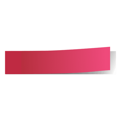 Postit vector red. Pink post it page