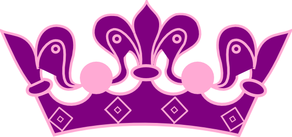 Pink princess crown png. Purple clip art at