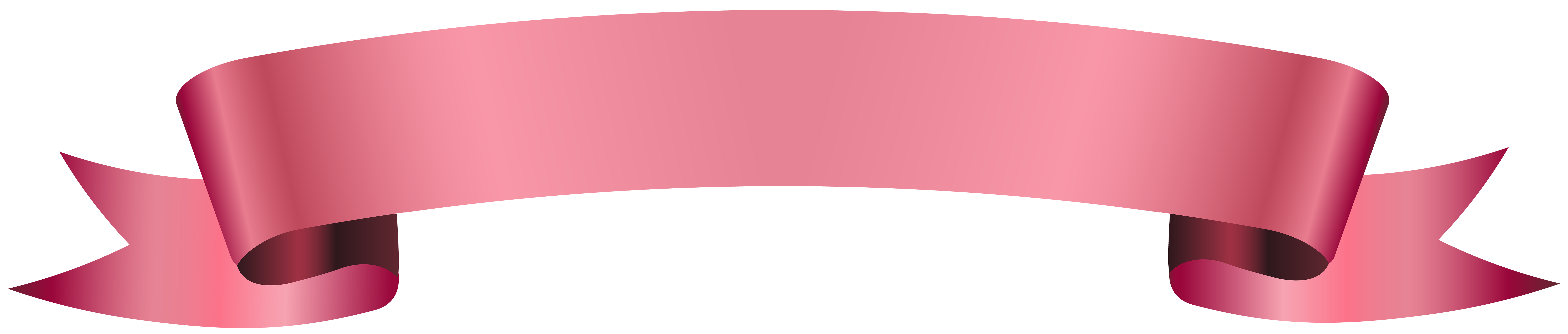 Pink ribbon banner png. Collection of clipart