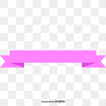 Pink ribbon banner png. Images vectors and psd