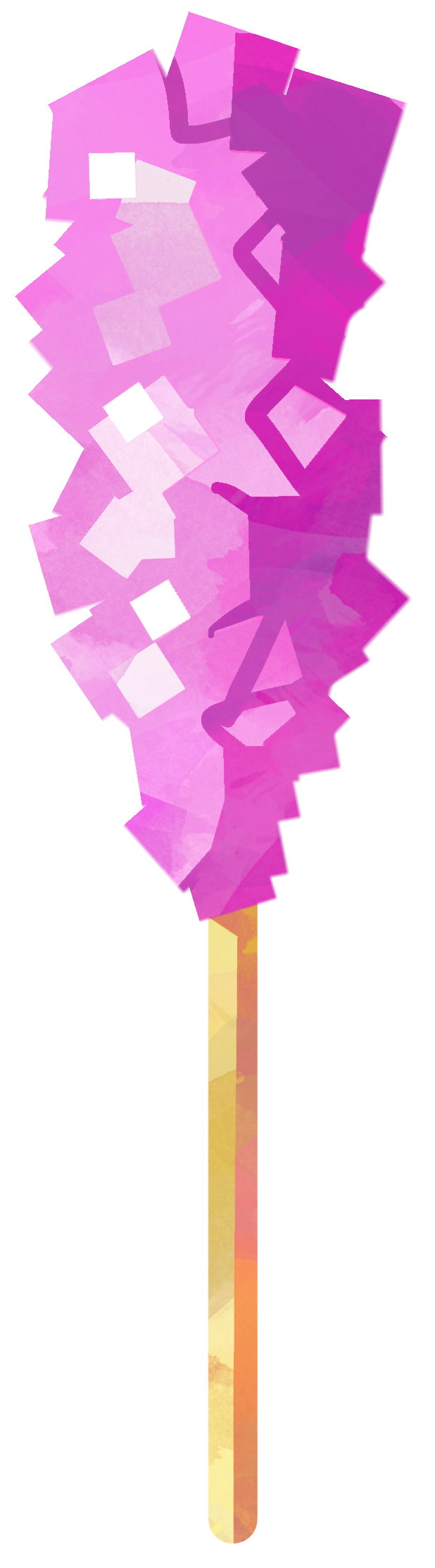 Pink rock candy png. Cotton on a