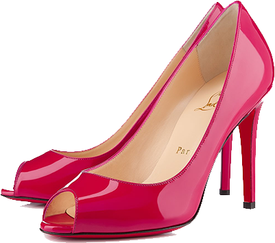 Pink shoe png. Women shoes images free